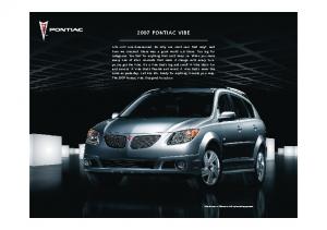 2007 Pontiac Vibe Web