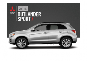 2015 Mitsubishi Outlander Sport Pre 2015