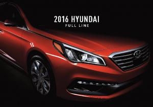 2016 Hyundai Full Line