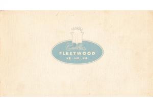1937 Cadillac Fleetwood Portfolio