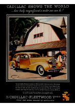 1937 Cadillac Shows The World