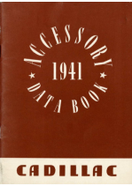 1941 Cadillac Accessories