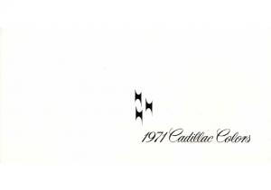 1971 Cadillac Exterior Colors