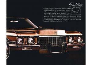 1971 Cadillac Leadership