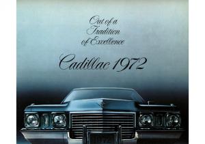 1972 Cadillac Full Line