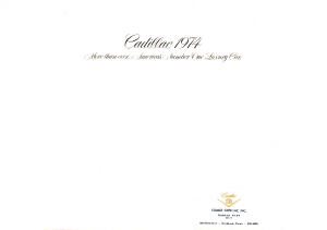 1974 Cadillac Prestige
