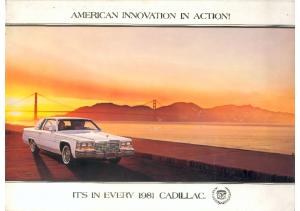 1981 Cadillac Full Line