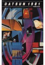 1981 Datsun Full Line V2