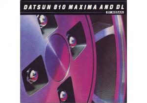 1982 Datsun 810 Series