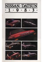 1983 Nissan-Datsun Full Line
