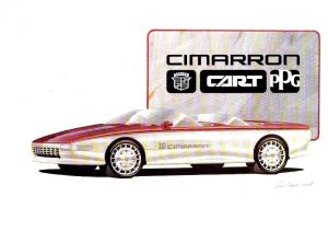 1985 Cadillac Cimarron CART PPG Concept