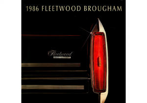 1986 Cadillac Fleetwood Brougham