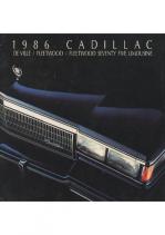 1986 Cadillac Full Line