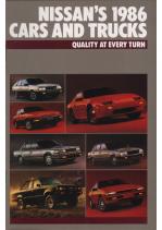 1986 Nissan Full Line V1