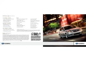 2010 Subaru Legac Autoshow