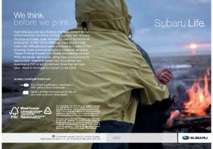 2010 Subaru Life Book