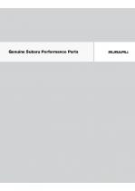 2010 Subaru Performance Parts Catalog