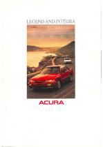1989 Acura Legend & Integra