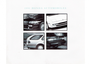 1991 Honda Full Line