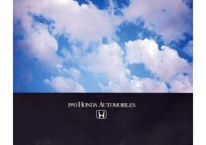 1993 Honda Full Line