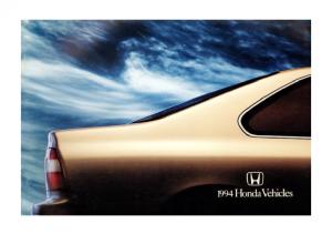 1994 Honda Full Line