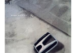 2000 Honda Full Line