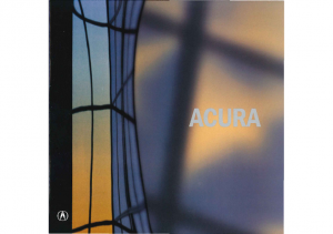 2002 Acura Full Line