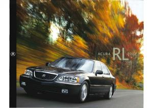 2002 Acura RL Folder
