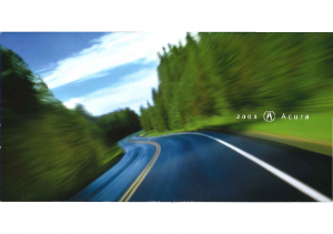 2003 Acura Full Line