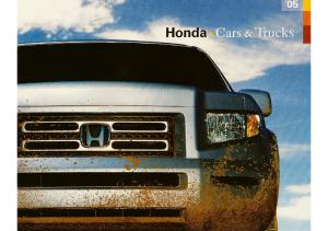 2005 Honda Full Line