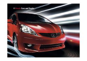 2009 Honda Full Line