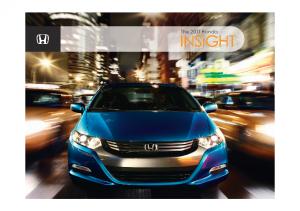 2011 Honda Insight Hybrid