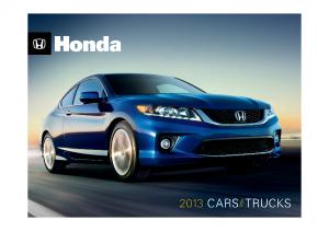 2013 Honda Full Line