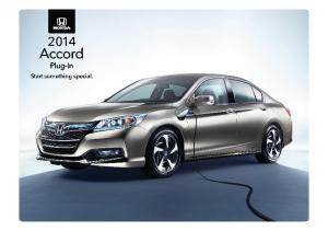 2014 Honda Accord Plugin