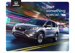2015 Honda Full Line