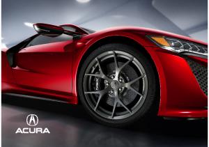 2016 Acura Full Line