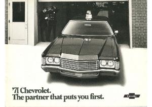 1971 Chevrolet Police Cars