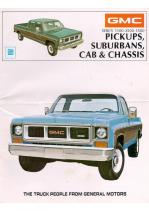 1973 GMC Pickups and Suburbans
