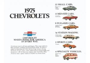 1975 Chevrolet Full Line