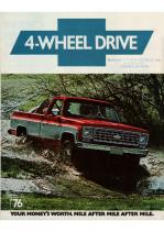 1976 Chevrolet 4-Wheel Drive