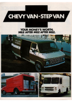 1976 Chevrolet Van-Step Van