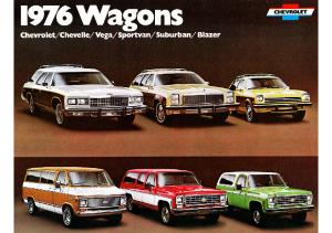 1976 Chevrolet Wagons