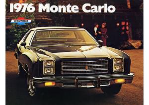 1976 Chevroloet Monte Carlo