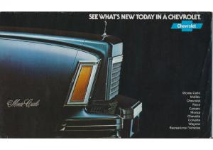 1978 Chevrolet Full Line