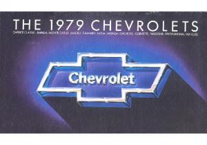 1979 Chevrolet Full Line
