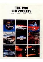 1981 Chevrolet Full Line