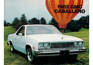 1982 GMC Caballero CN