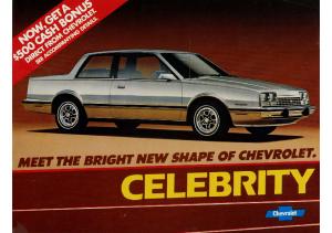1983 Chevrolet Celebrity Intro