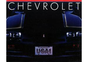 1983 Chevrolet Full Line