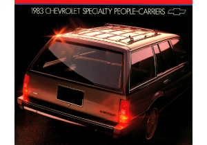 1983 Chevrolet Specialty People-Carriers
